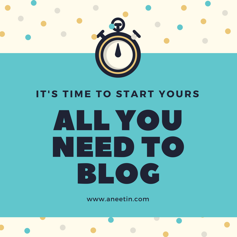 All you need to Blog