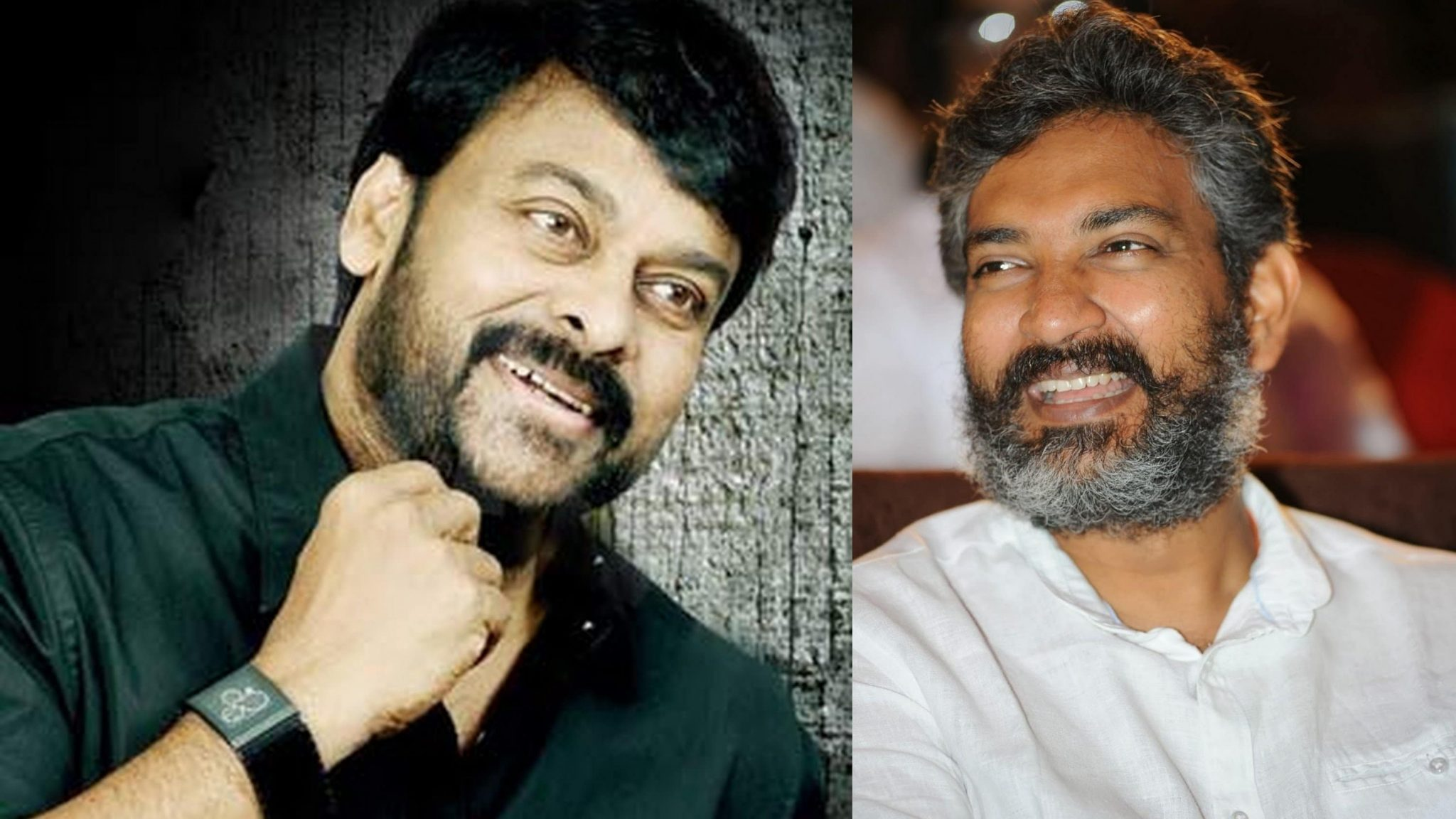 Chiranjeevi and Rajamouli