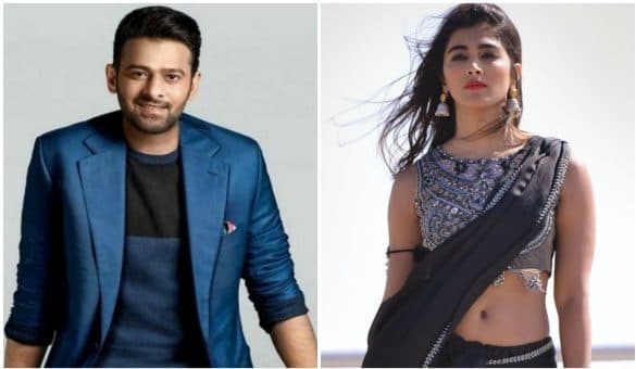 Prabhas and Pooja Hegde